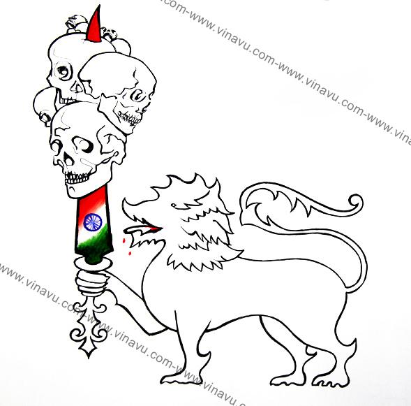 பிண அரசியல் . புதிய ஜனநாயகம், மே-2009 இல் வெளியான கட்டுரை.