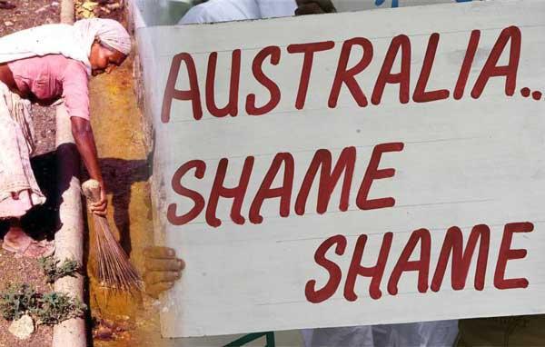 ஆஸ்திரேலியா: இந்திய மாணவர்கள் தாக்கப்படுதல்! மனுவாதிகளுக்கே மனுதர்மம் கற்பித்த உலகமயம்!!