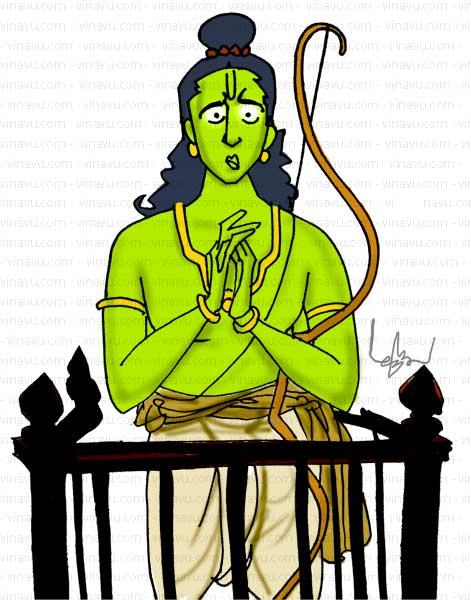 இராமன் தேசிய நாயகனா தேசிய வில்லனா