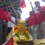 ஸ்ரீரங்கம்: பல்லக்கில் உலா வந்த பார்ப்பனக் கொழுப்பு முறியடிப்பு !!