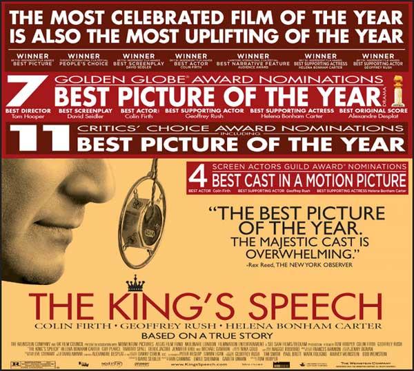 The King's Speech: ஆஸ்கர் விருதின் மற்றுமொரு அற்பத்தனம்!