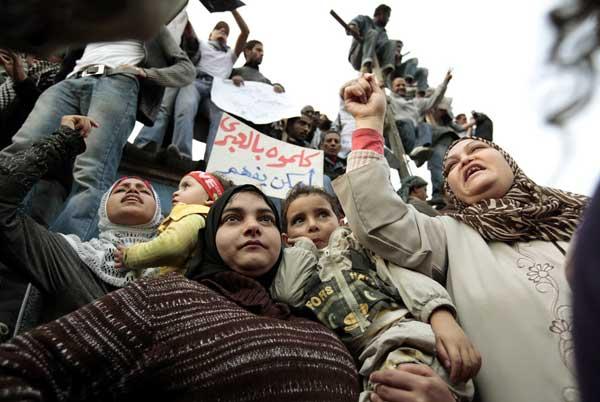 எகிப்து : அரபுலகின் அடுத்த வரவு எகிப்திய மக்களின் எழுச்சி !!