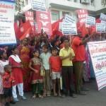 மே 18 - ராஜபக்சேவை தண்டிக்க வலியுறுத்தி சென்னையில் ஆர்ப்பாட்டம்