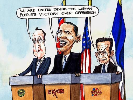 லிபியா: ஐரோப்பிய எண்ணெய்க் கழகங்கள் ஏலத்தில் எடுத்த ஆட்சி!