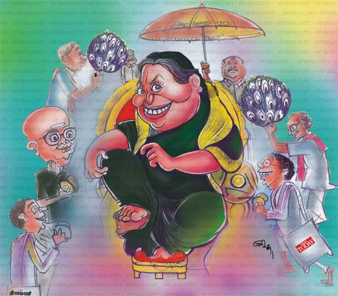 சசிகலா நீக்கம் : மன்னார்குடிக்குப் பதிலாக மயிலாப்பூர் கும்பல் !