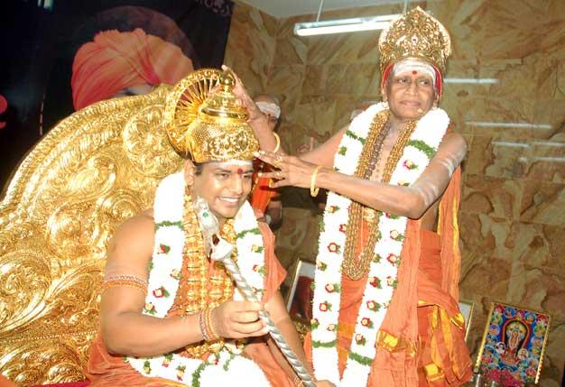 மதுரை ஆதீனமானார் நித்தி