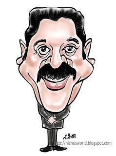 கமல் ஹாசன் கார்ட்டூன்