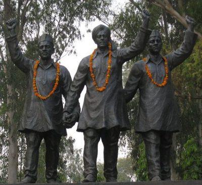 பகத்சிங், ராஜ்குரு, சுக்தேவ்