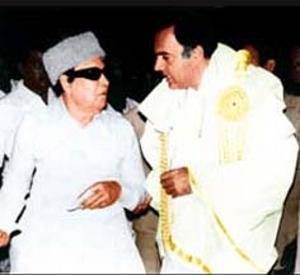 எம்.ஜி.ஆர்., ராஜீவ் காந்தி