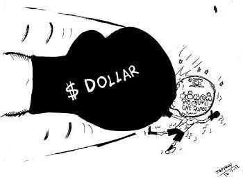 dollar-rupees