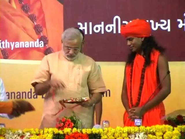 மோடி-நித்தியானந்தா