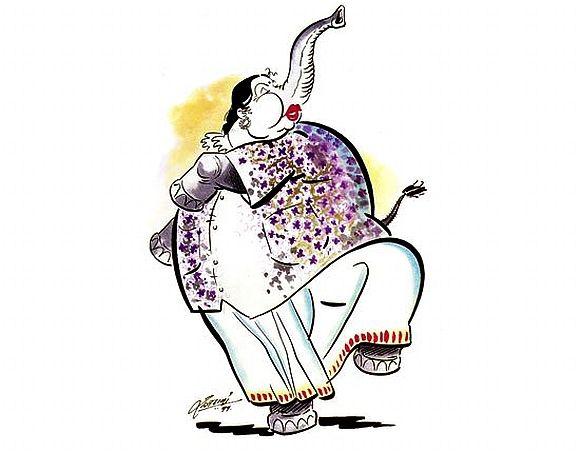 ஜெயலலிதா கார்ட்டூன்