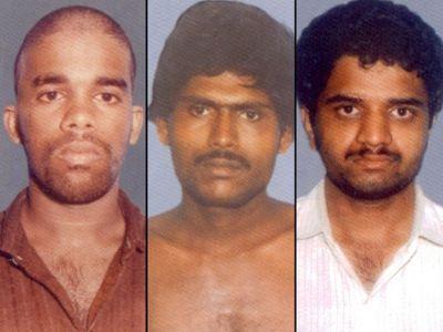 முருகன், சாந்தன், பேரறிவாளன்