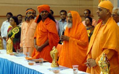 நித்தியானந்தா 2009 கண்காட்சியில்