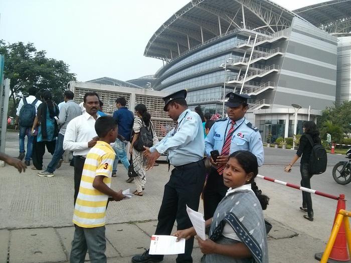 NDLF action in Chennai TCS (10)
