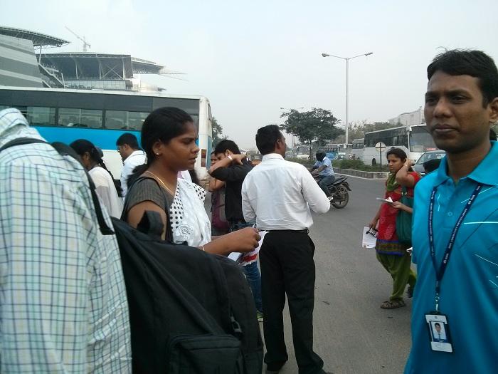NDLF action in Chennai TCS (12)
