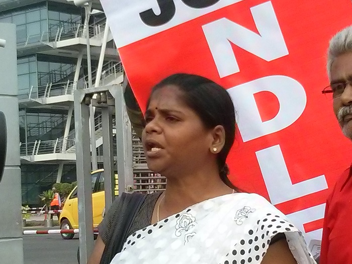 NDLF action in Chennai TCS (8)