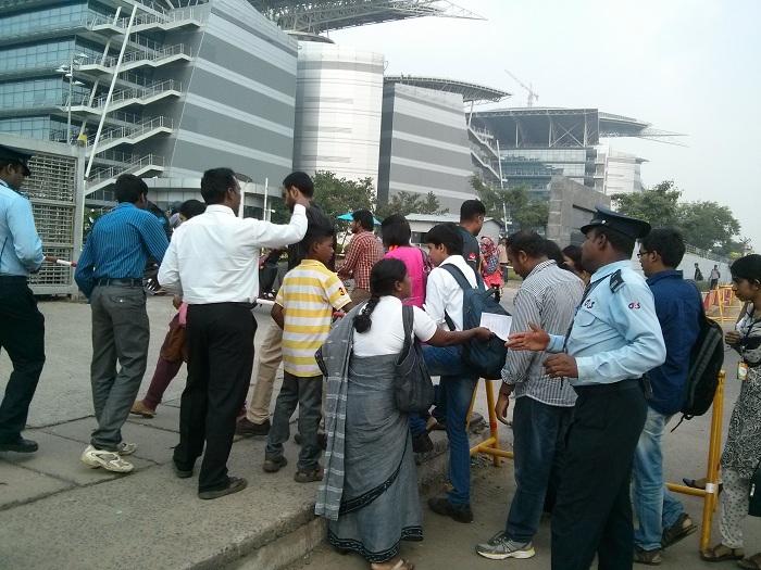 NDLF action in Chennai TCS (9)