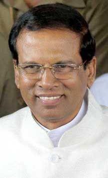 மைத்ரிபாலா சிறீசேனா