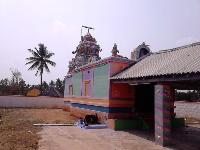 திருவிழா நடந்த கிருஷ்ணன் கோவில்