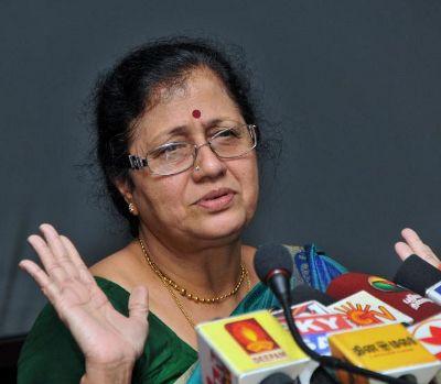 பேராசிரியர் சந்திரா கிருஷ்ணமூர்த்தி