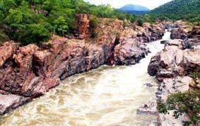 மேக்கேதாட்டு பகுதி