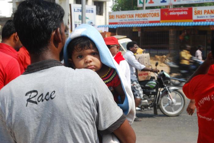 மே நாள் சென்னை பேரணி, ஆர்ப்பாட்டம்