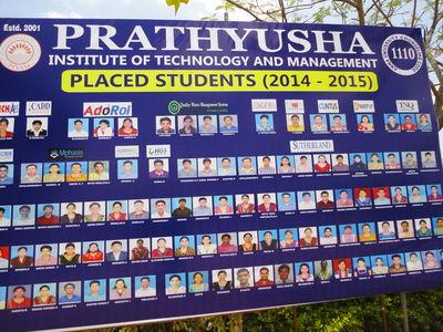 பிரத்யுஷா placed students விளம்பர்