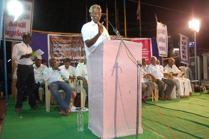 ஆசிரியர் கோ. செல்வராஜ்