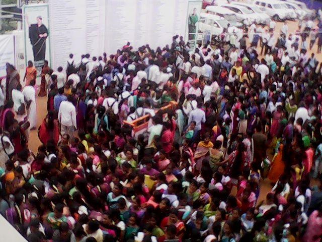 வேலை வாய்ப்பு முகாம் மோசடி