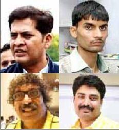 டாக்டர் ஆனந்த் ராய், ஆஷிஷ் சதுர்வேதி, பிரசாந்த் பாண்டே, பரஸ் சக்லேகா