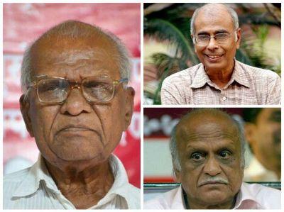 கல்புர்கி, தாபோல்கர், பன்சாரே