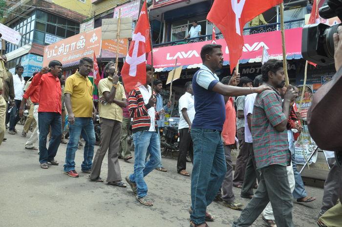 சாலை பாதுகாப்பு மசோதா - கோத்தகிரி ஆர்ப்பாட்டம்