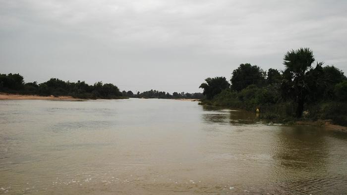 கெடிலம் ஆற்றில் வெள்ளம்