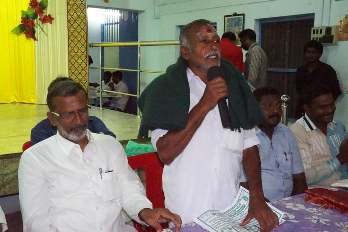 தமிழ்நாடு விவசாயிகள் சங்கத்தின் ம.பா.சின்னதுரை: