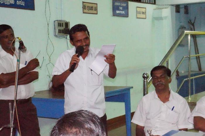 தோழர் தர்மராஜ், மக்கள் அதிகாரம் மாநில செயற்குழு உறுப்பினர்: