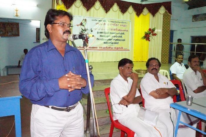 கராத்தே வீரமுருகன், ஆதி தமிழர் கட்சி