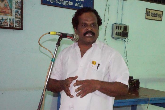 இந்திரஜித், சி.பி.ஐ-ன் புறநகர் மாவட்ட செயலாளர்