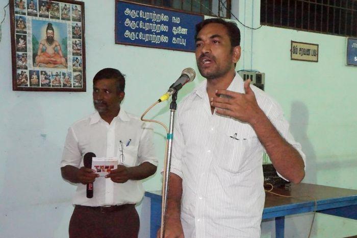 தோழர் சத்யா, ம.க.இ.க