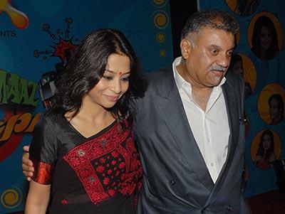 indrani with husband