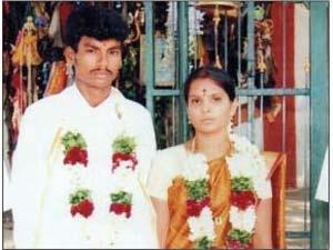 கௌசல்யா - சங்கர் திருமணப் புகைப்படம்
