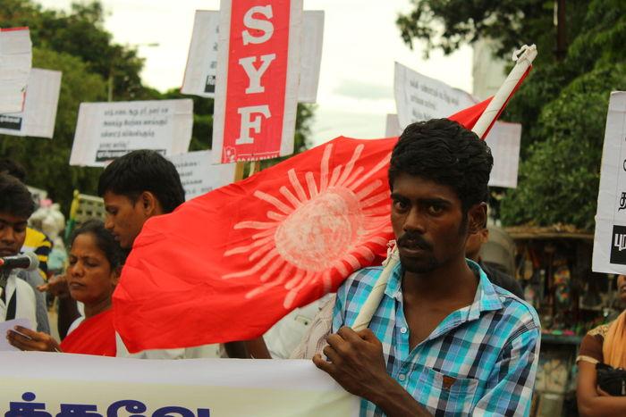 rsyf-sanskrit-protest-trichy-5