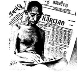 1950இல் கோகோ கோலா இந்தியாவில் காலடி எடுத்து வைத்தவுடனேயே காந்தியால் தொடங்கப்பட்ட அரிஜன் பத்திரிகையில் அதற்கெதிரான கட்டுரைகள் வெளிவந்துள்ளன.