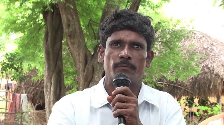 வேல்முருகன், விவசாயத் தொழிலாளி - மேலப்பாளையூர், விருத்தாசலம்.