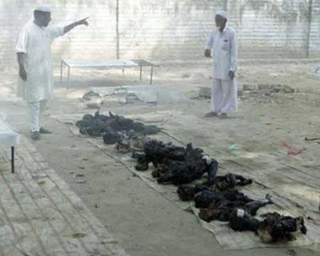 2002 குஜராத் படுகொலையில் எரிக்கப்பட்ட பச்சிளங்குழந்தைகள்