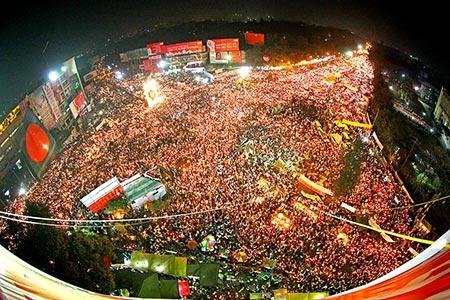 2013 ல் ஷாபாக் சதுக்கத்தில் நடைபெற்ற மாபெரும் ஆர்ப்பாட்டம்
