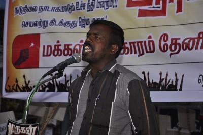 cauvery-issue-theni-meeting- thiru-karuppaiya-mullai-periyaru-dam-protection-movement