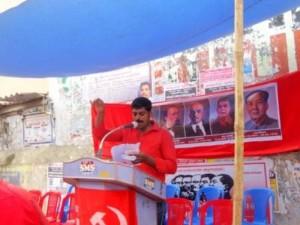 மாவட்டத் தலைவர் தோழர் சதீஷ்