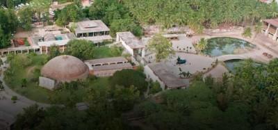 கோவை - வெள்ளியங்கிரி மலையடிவாரத்தில் 150 ஏக்கர் நிலப்பரப்பில் விரிந்துள்ள பிரம்மாண்டமான ஈஷா யோகா மையம்