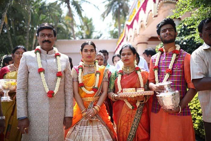 janardhan reddy wedding family